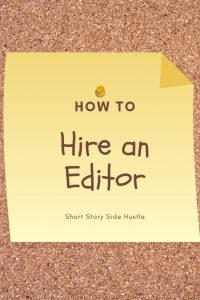How to hire an editor